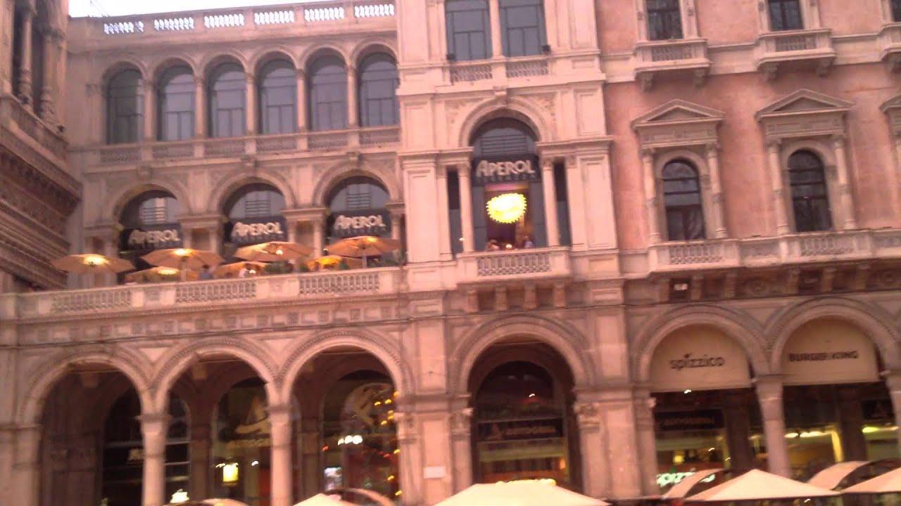 Ed Sheeran Terrazza Aperol Piazza Duomo Milano