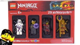 LEGO Ninjago Bricktober 2017 Figure Pack Review