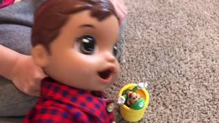 BABY ALIVE Luke's Night Time Routine. Happy New Year Baby Alive Videos