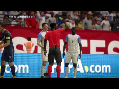 FIFA 18 w/ Matt10L's v4.1 sliders and custom gameplay patch