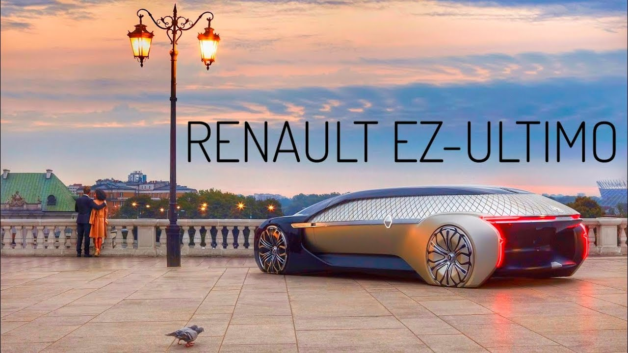 Renault Ez Ultimo New Luxury Car Is Entirely Self Driving