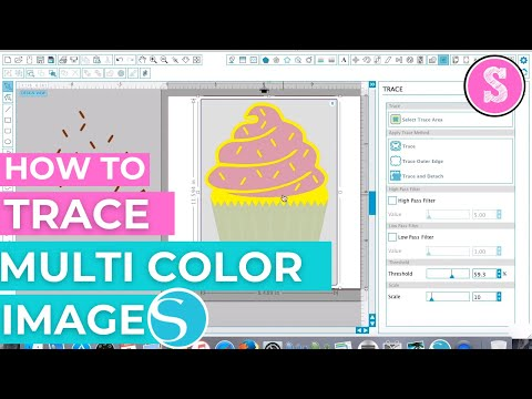 How to Trace Multi Color Images in Silhouette Studio