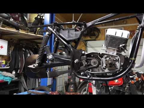 JAWA 638 LUX Реставрация.