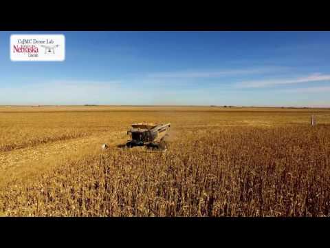 UNL CoJMC Drone Lab Nebraska Harvest 2016