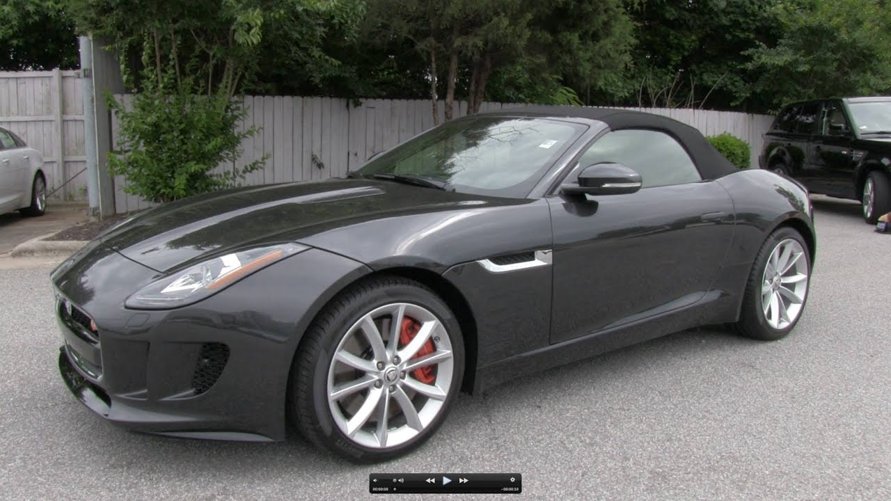 2014 Jaguar F Type S (V6) Start Up, Exhaust, And In Depth Review   YouTube