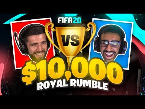 JOSH VS VIK - SIDEMEN FIFA 20 $10,000 ROYAL RUMBLE