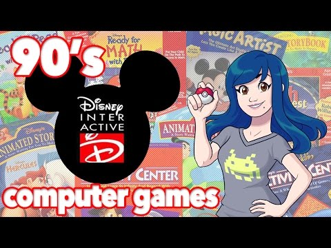 90s Disney Interactive Computer Games (Windows And Mac) - Retro Game Review - Tamashii Hiroka