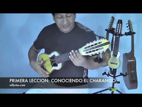 FOLKLORE BOLIVIANO - CURSOS DE  CHARANGO NIVEL BASICO. 1   ( WILLY RIOS)