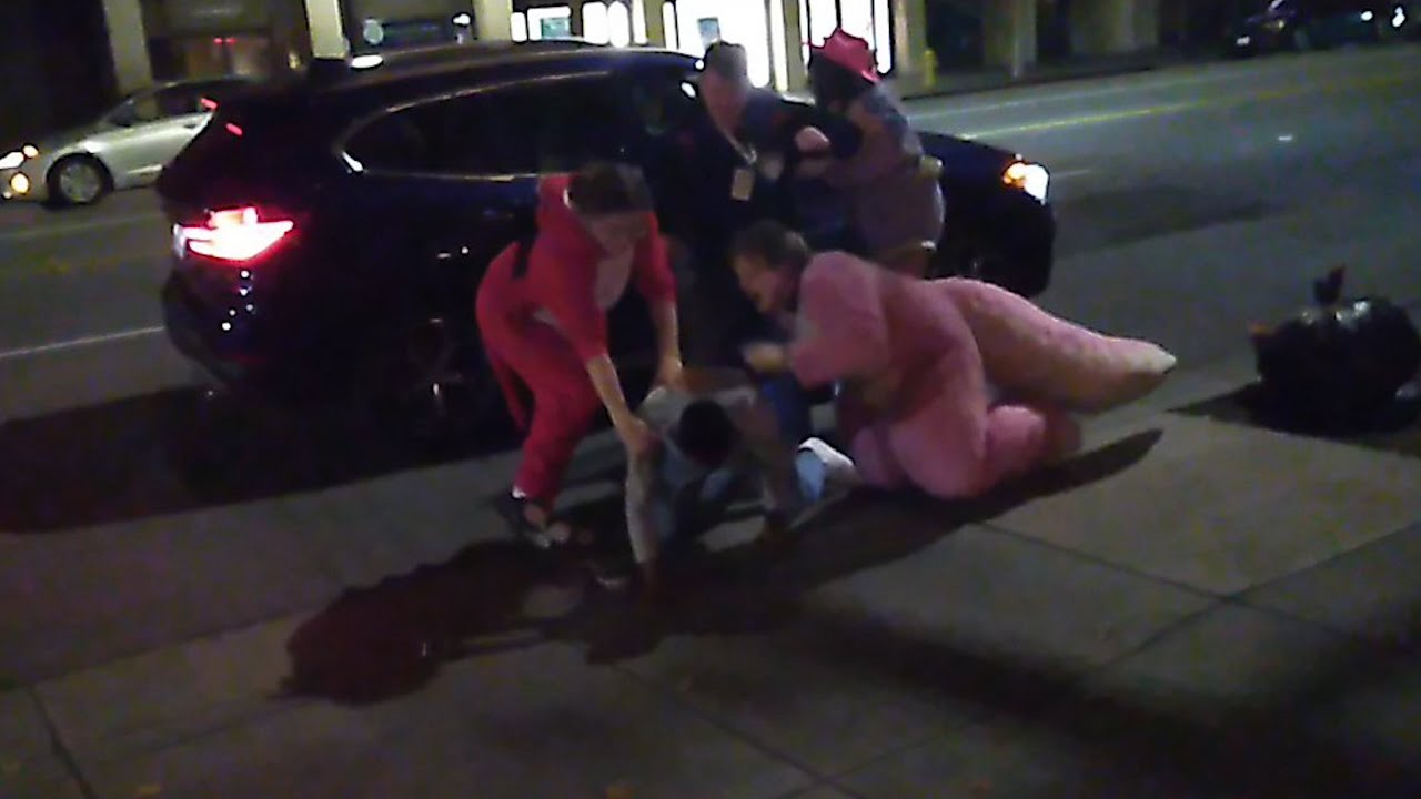 San Jose: 'Furries' pulled assaulter out of vehicle, sat on him