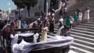 г.Рим .Римская свадьба.