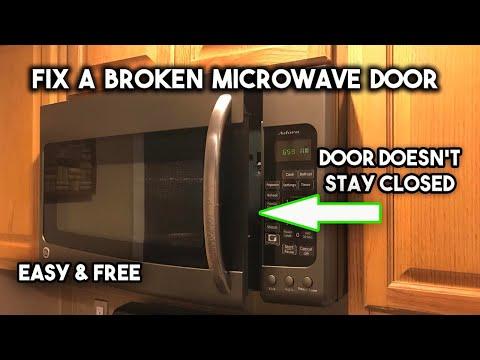 repair-a-broken-microwave-door-latch