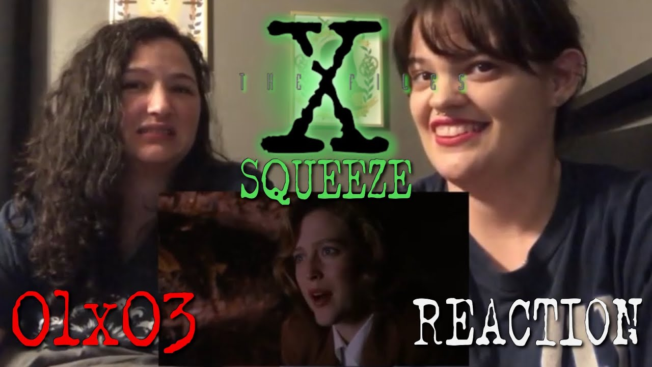 """Download The X-Files - 1x3 """"Squeeze"""" Reaction"""