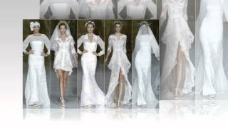 Свадебные платья разных фасонов