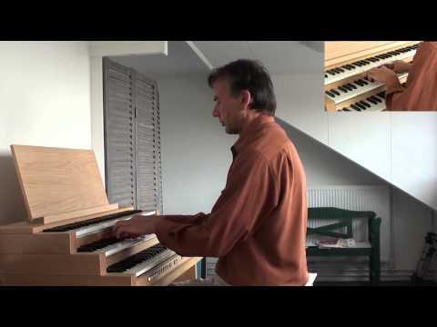 """Joh. Brahms: Schmücke dich, O liebe Seele - Willem Tanke, organ (""""Tholen"""")"""