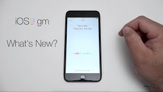 iOS 9 GM - What's New?