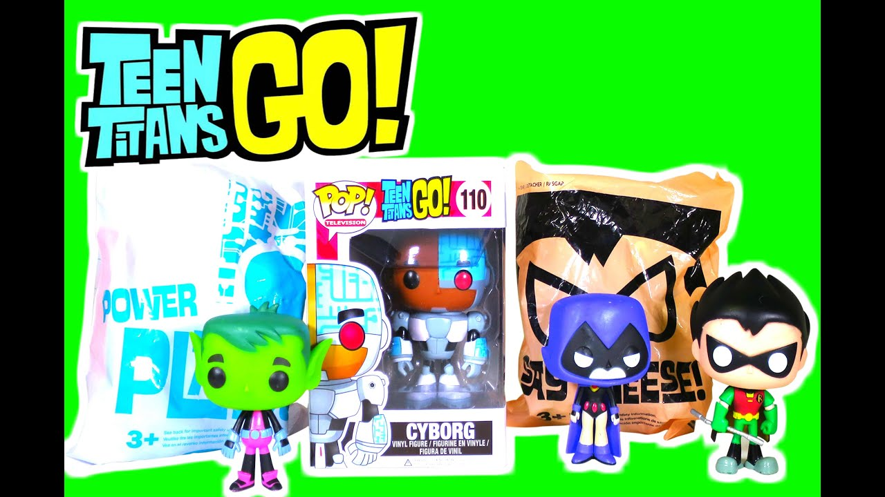 Teen Titan Character Toys : Teen titans go wendy s kids meal toys robin