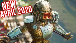 Top 10 New Games Of April 2020