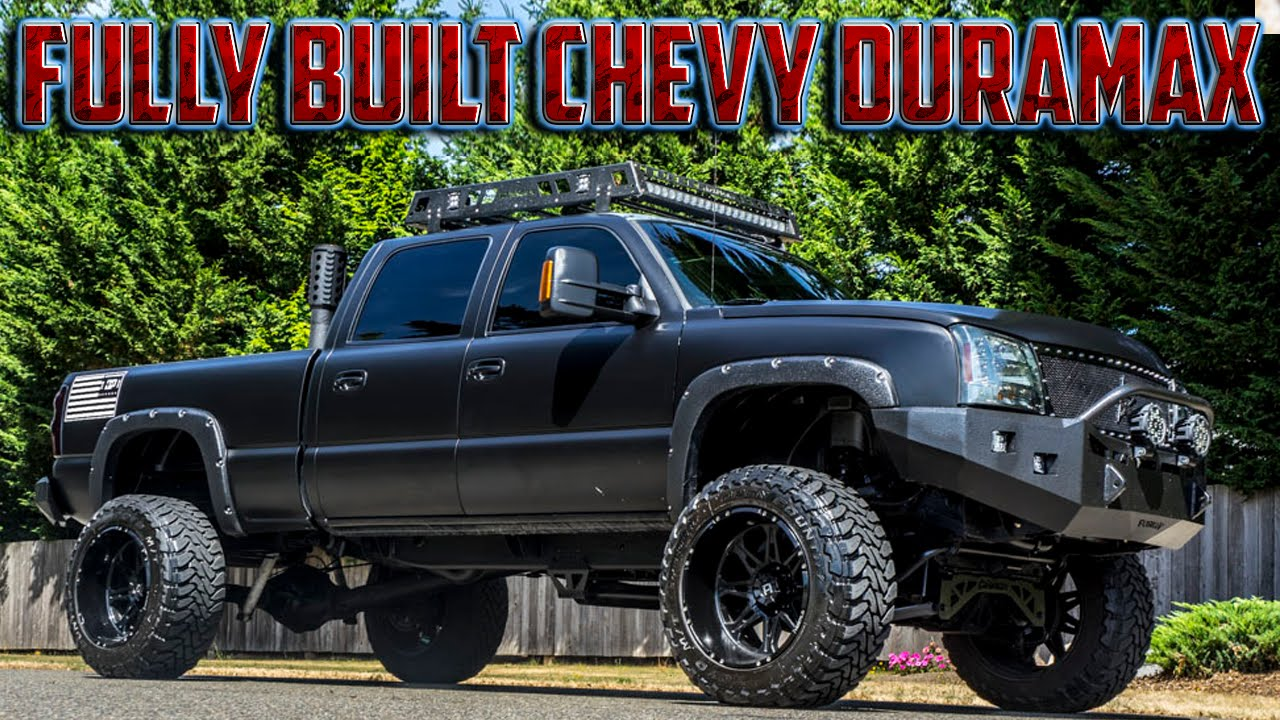 2006 Chevy Duramax 2500hd Lt Built Diesel Youtube