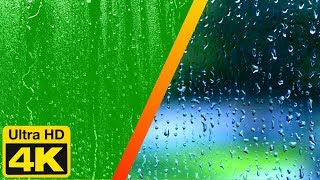 4K Ultra HD Green Screen Water Drops On Screen Effects Free