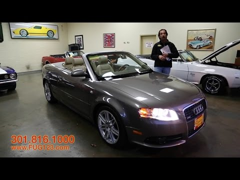 2009 Audi A4 S for sale with test drive, driving sounds, and walk through video