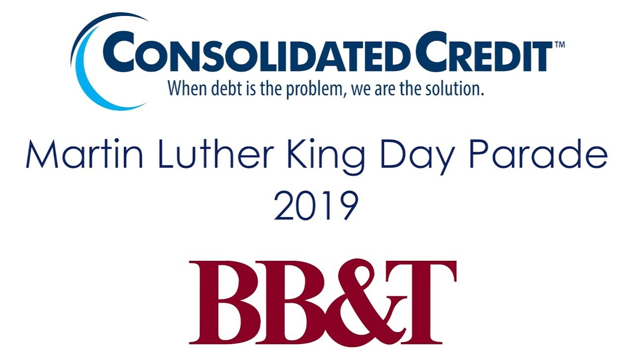 Consolidated Credit at The Martin Luther King Day Parade 2019