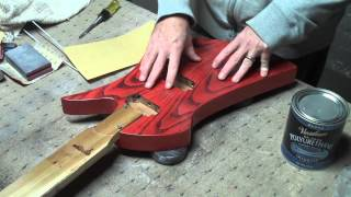 How To Apply A Water-Based Finish On An Elecrtic Guitar Body Part 6
