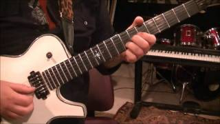 How to play Romeo Delight by Van Halen on guitar by Mike Gross
