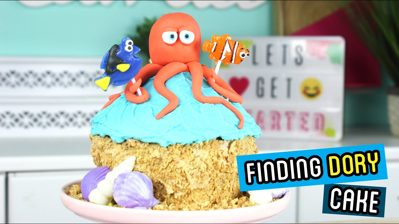 How to Make a Finding Dory Cake YouTube