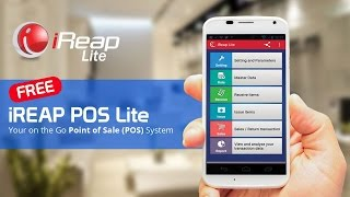 Http://www.ireappos.com. ireap pos lite is a totally free (point of sale) apps for android mobile phones. the gives you freedom and flexibility in m...