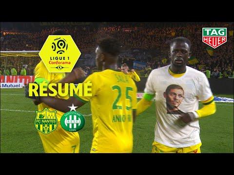 FC Nantes - AS Saint-Etienne ( 1-1 ) - Résumé - (FCN - ASSE) / 2018-19