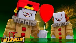 Minecraft HALLOWEEN IT - ROPO IS DRAGGED DOWN THE SEWERS BY IT & TURNED INTO AN EVIL CLOWN!!