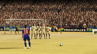 Free Kicks From FIFA 94 to 20