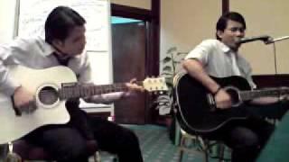 Pergilah Sayang by Ella & Korie (Amateur Acoustic Cover).3gp