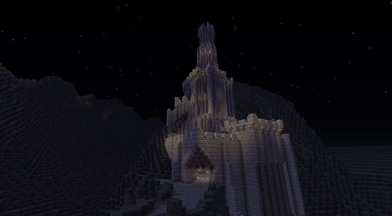Lord Of The Rings Cirith Ungol Minecraft Youtube