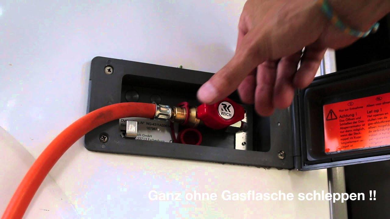 Bester Gasgrill Für Wohnmobil : Extrem praktisch gassteckdose am fahrzeug youtube
