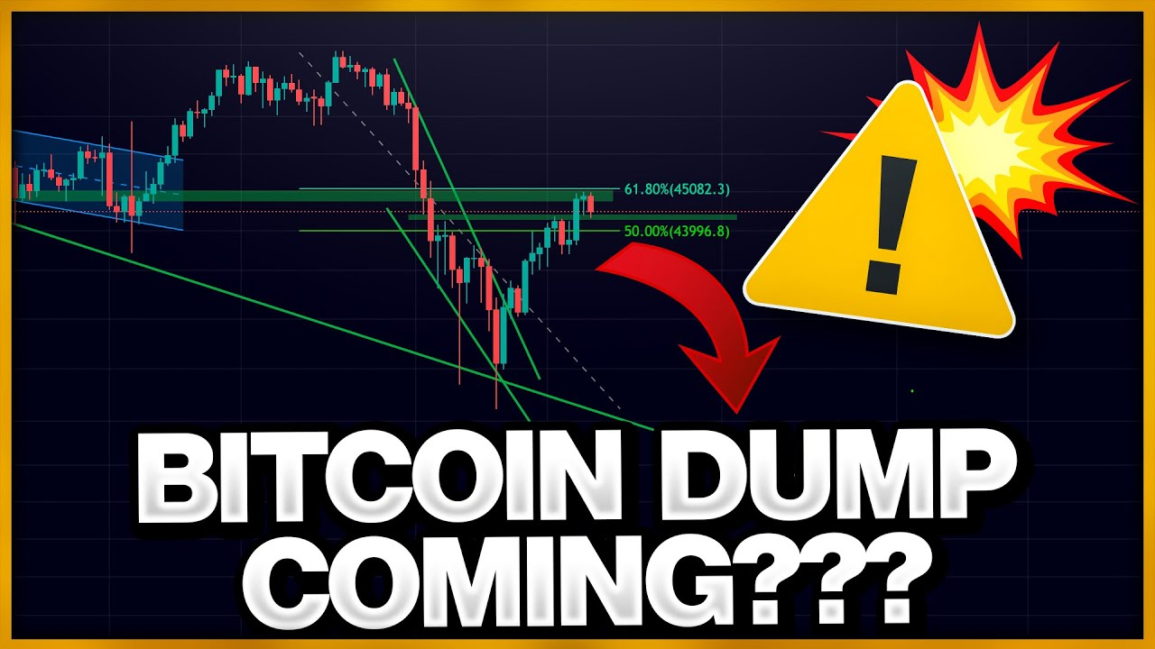 Download BITCOIN DUMP COMING ?!?!?!?! IS BITCOIN GETTING REJECTED FROM THIS LEVEL ?!?!?