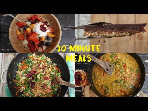 4 Ten Minute Meals (That are Vegetarian!)