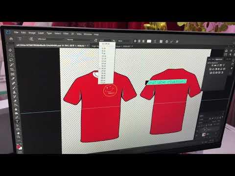 Hướng dẫn thiết kế áo đồng phục nhóm, lớp đơn giản với photoshop