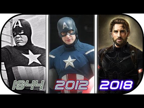 EVOLUTION of  Captain America in Movies 1944-2018 History of Avengers Infinity War