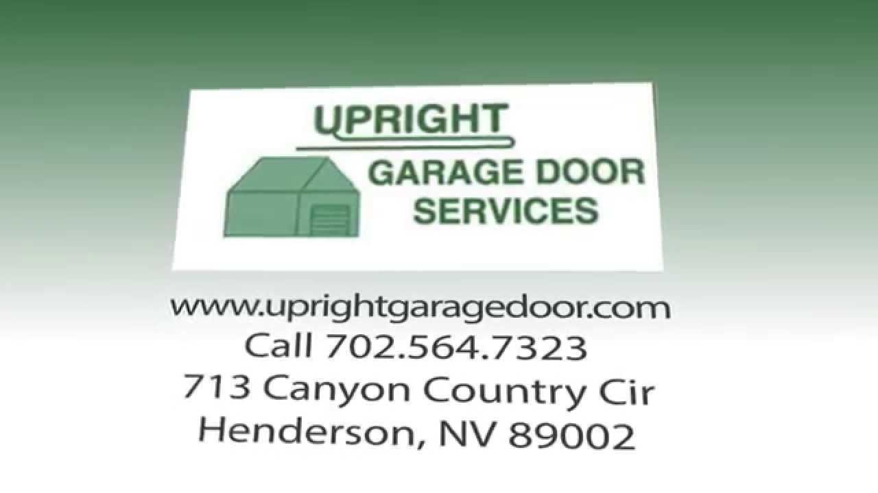 Garage Doors in Las Vegas   Upright Garage Door Services - YouTube