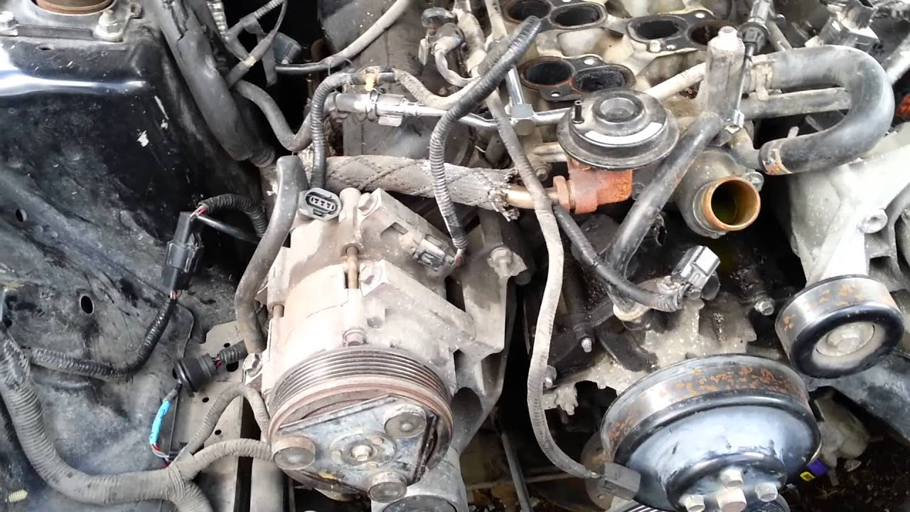 1999 mustang v6 3 8 engine swap part 1 of 3 youtube rh youtube com Ford 4.6 Engine Diagram 2003 Mustang Engine Diagram