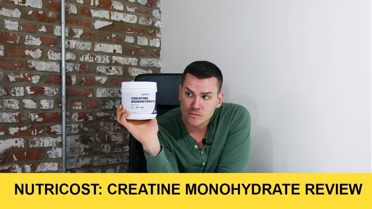 Nutricost Creatine Monohydrate Review Youtube Rsp 500 Gram