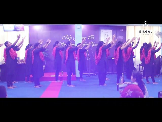 YOU ARE MY HIDING PLACE | Choreography | Gilgal Youth | Gilgal IPC Madiwala Bengaluru