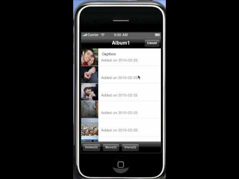 iPrivate Foto App for iPhone and iPod Touch