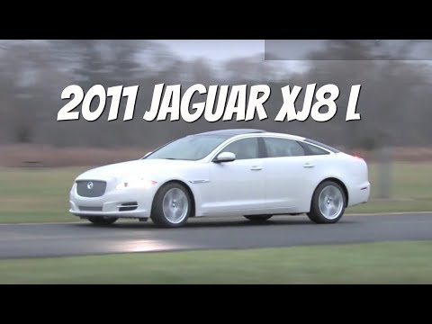 2011 Jaguar XJ L--Video Test Drive with Chris Moran from Chicago Motor Cars