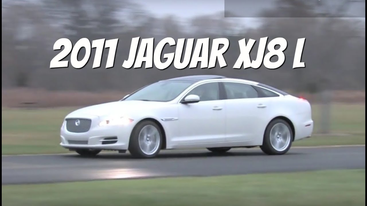 Jaguar XJ L SOLD Video Test Drive With Chris Moran - 2011 jaguar xjl reviews