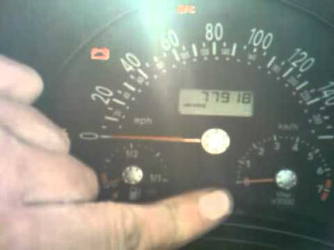 Flashing Check Engine Light >> how to reset a service indicator, light on a Volkswagen ...