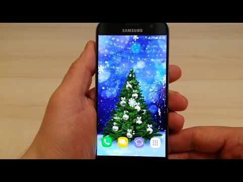 Beautiful Christmas Live Wallpaper For Android Phones And Tablets