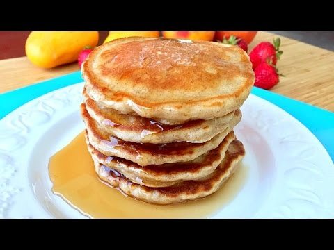 BANANA PANCAKES - Best Ever Banana Buttermilk Pancakes Recipe