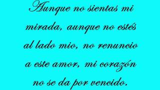 David Bisbal - Hasta el final (Con letra)